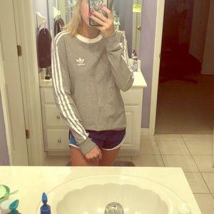 Grey adidas long sleeve